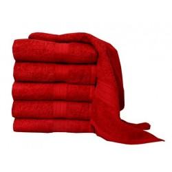 Froté ručník Aaryans 50x100 cm - Vínový