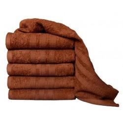 Froté ručník Aaryans 50x100 cm - Hnědý