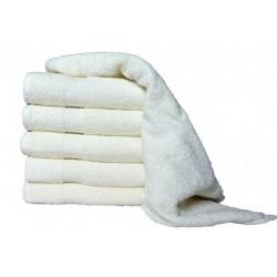 Froté ručník Aaryans 50x100 cm - Krémový