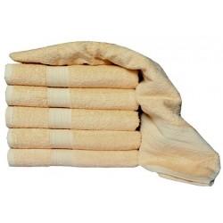 Froté ručník Aaryans 50x100 cm - Světle hnědý
