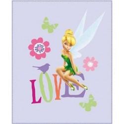 Dětská fleecová deka 110x140 cm - Fairies Love