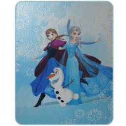 Dětská fleecová deka 110x140 cm - Ledové Království