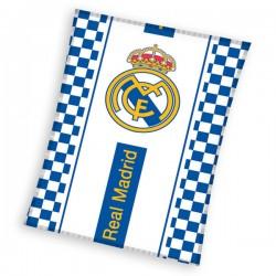 Dětská fleecová deka 110x140 cm - Real Madrid kostky