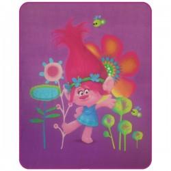 Dětská fleecová deka 110x140 cm - Trollové Poppy