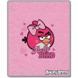 Dětská fleecová deka 120x150 cm - Angry Birds Pretty Bird