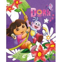 Dětská fleecová deka 120x150 cm - Dora