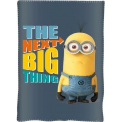 Dětská fleecová deka 100x150 cm - Mimoni