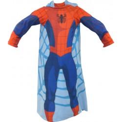 Dětská fleecová deka 100x150 cm - Spiderman s rukávy