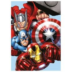 Dětská Micropolar fleecová deka 100x140 cm - Avengers