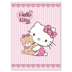 Dětská španělská deka 80x110 cm -  Hello Kitty II