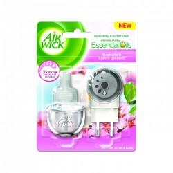 Air Wick elektrický osvežovač vzduchu, strojek & náplň - Magnolie a květy třešní