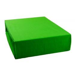 Jersey prostěradlo - Hráškově zelené - Aaryans