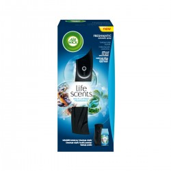 Osvěžovač vzduchu + náplň - Freshmatic - Tyrkysová laguna - 250 ml - černý - Air Wick