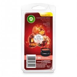 Air Wick Wax Melts voskové náplně - Svařené víno u krbu
