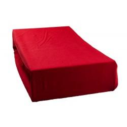 Jersey prostěradlo - Červené