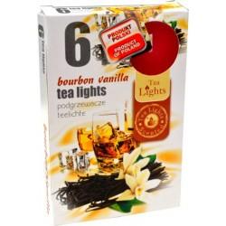 Čajové svíčky - Bourbon a vanilka - 6 ks - Admit