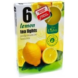 Čajové svíčky 6 kusů – Citron