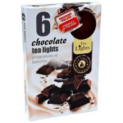 Čajové svíčky 6 kusů – Čokoláda