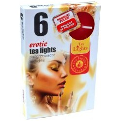 Čajové svíčky - Erotika - 6 ks - Admit