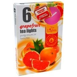 Čajové svíčky 6 kusů – Grapefruit
