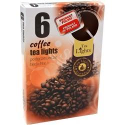 Čajové svíčky 6 kusů – Káva