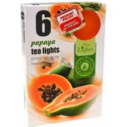 Čajové svíčky 6 kusů – Papaya