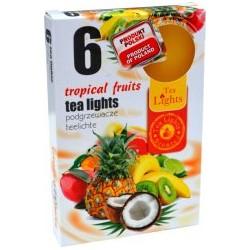 Čajové svíčky - Tropické ovoce - 6 ks - Admit