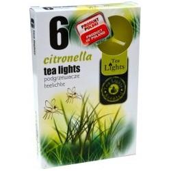 Čajové svíčky 6 kusů – Citronella