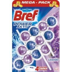 Bref Power Aktiv WC závěs 3x50g - Lavender