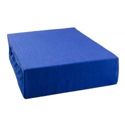Jersey prostěradlo - Modré