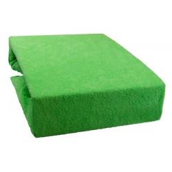 Froté prostěradlo - Světle zelené - Aaryans