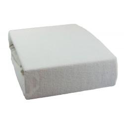 Froté prostěradlo - Bílé