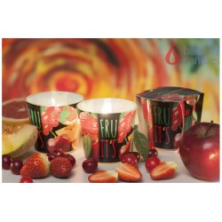 Vonná svíčka ve skle - TuttiFrutti červené ovoce, 100g