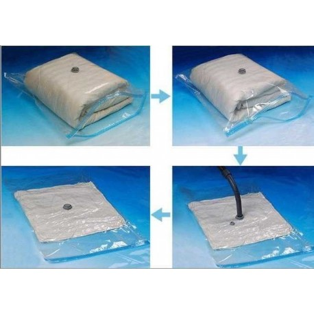 Vakuový pytel pro uskladnění sezónního prádla - 60x80 cm