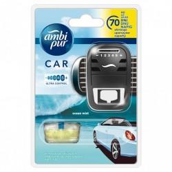Osvěžovač vzduchu do auta + náplň - CAR3 - Ocean Mist - 7 ml - Ambi Pur