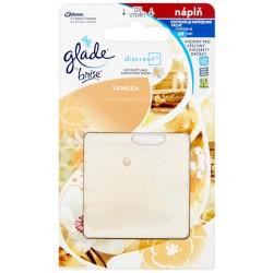 Náhradní náplň Glade Discreet - Vanilka - 8g - Brise