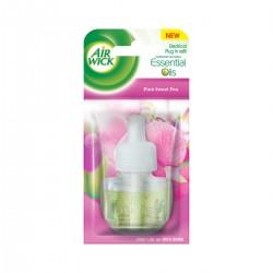 Air Wick tekutá náplň do elektrického osvěžovače - Růžové květy středomoří