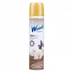 Flowers - Aerosolový sprej - Vanilka - 300 ml - Woods