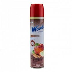 Flowers - Aerosolový sprej - Jablko a skořice- 300 ml - Woods