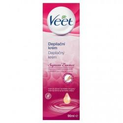 Depilační krém s esenciálními oleji Suprem' Essence - 90 ml - Veet