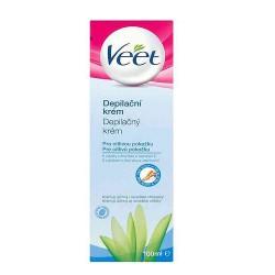 Veet® depilační krém pro citlivou pokožku, 100 ml