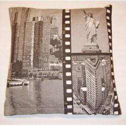 Povlak na polštářek 40x40cm - New York