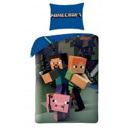 Bavlněné povlečení pro děti - Minecraft