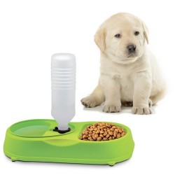 Automatický dávkovač vody s miskou na krmivo - Fine Pet