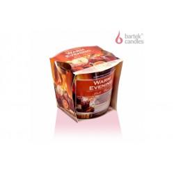 Vonná svíčka ve skle - Horký čaj, 115g
