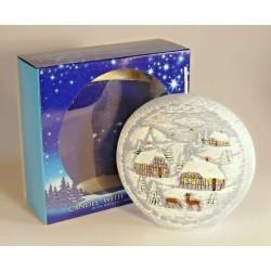 Dekorativní vonná svíčka - Betlém disk, 480g