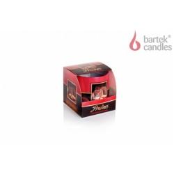 Vonná svíčka ve skle - Pralinka – čokoláda a mandle, 100g