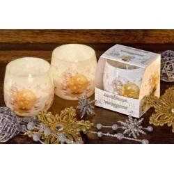 Vonná svíčka ve skle - Vánoční sen, 100g