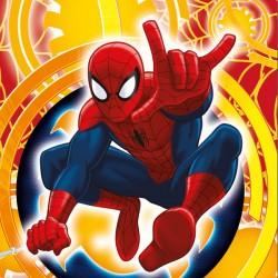 Povlak na polštářek 40x40cm - Spiderman