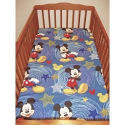 Dětské prostěradlo (60x120) - Mickey Mouse